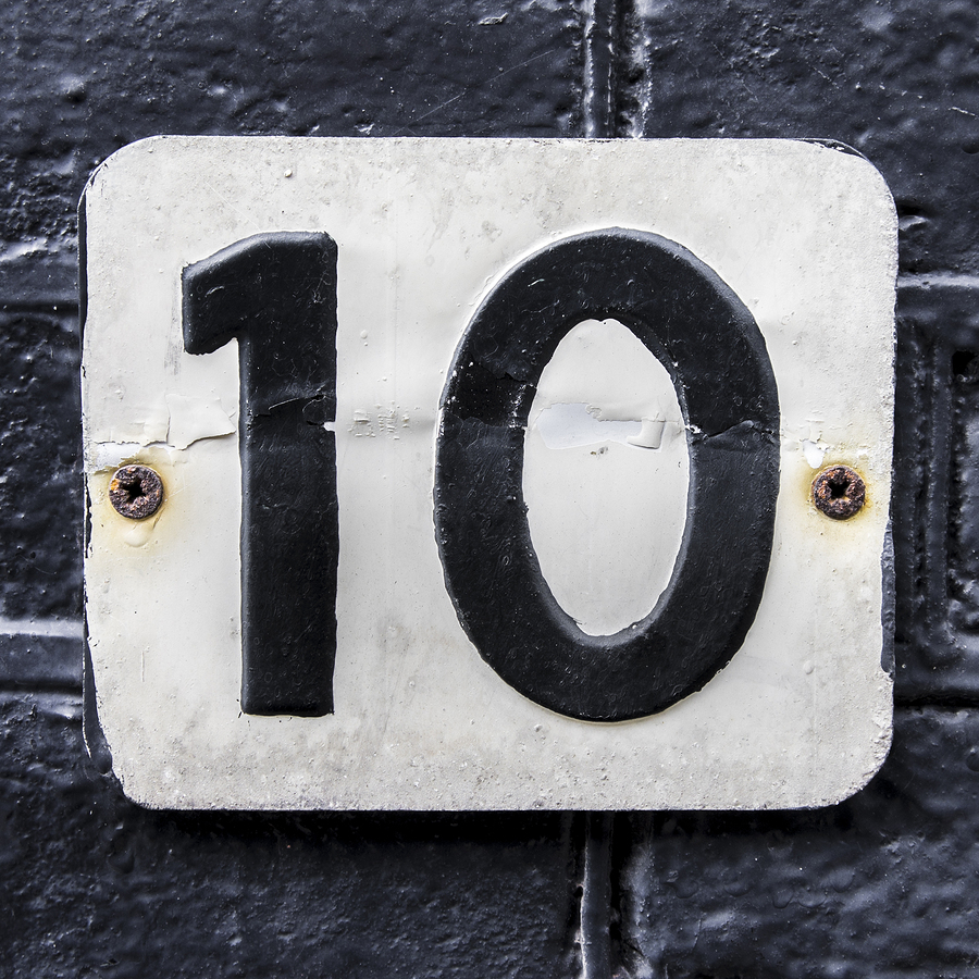 10 top fears: