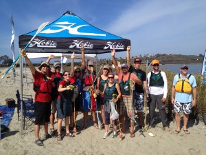 Clearpoint Team at the Annual Kayak Cleanup